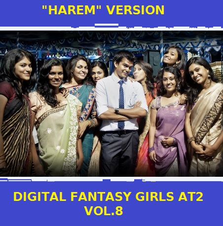 "Digital Girls Fantasy vol.8 ""harem version"" has been made (finally)."