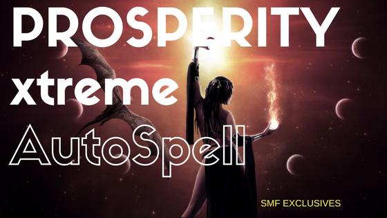 Psionics Sigil for Prosperity | Seduction Magic Flow