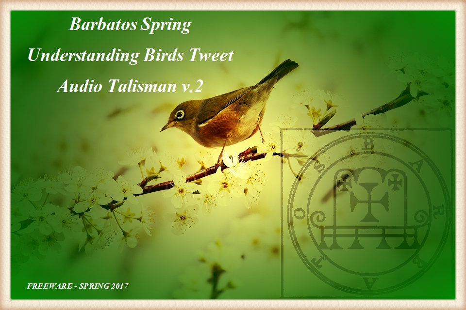 Barbatos Spring – Freeware Audio Talisman v.2