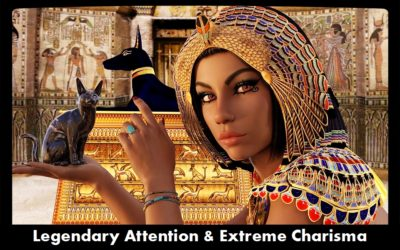 Ancient Egyptain Bastet Legendary Attention and Extreme Charisma
