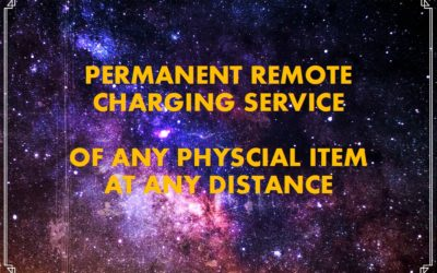 Remote Charging of any Physical Items