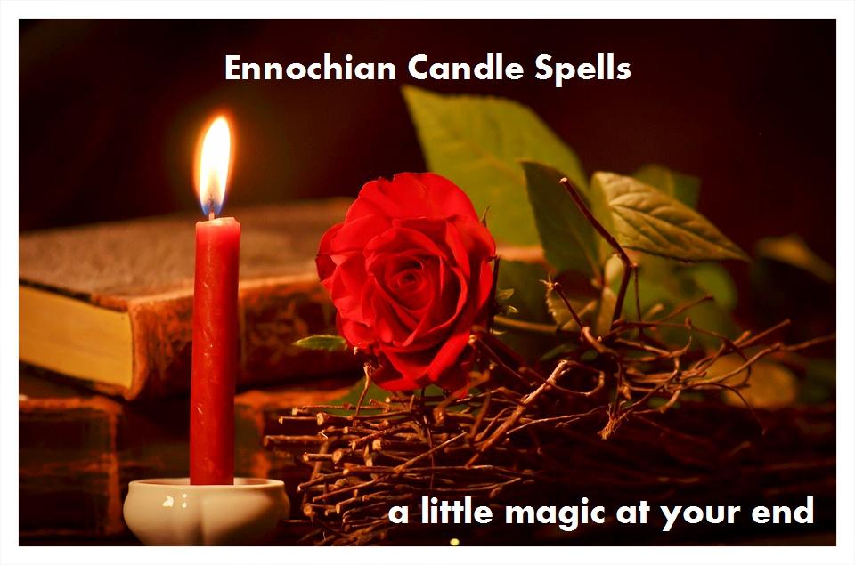 Ennochian Personalized Candle Spells