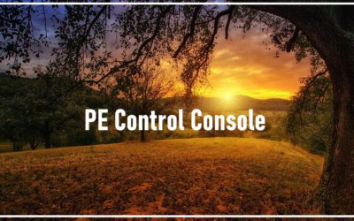 PE Control Console MP3 and AT